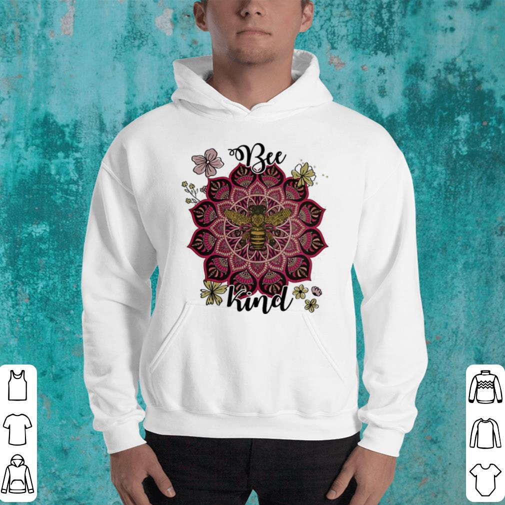 Flowers Bee kind shirt