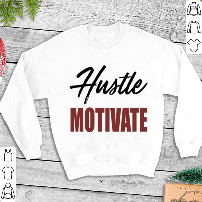 Clickbuypro Unisex T-shirt Hustle Motivate Nipsey Hussle Victory Lap Shirt Hoodie Blue M