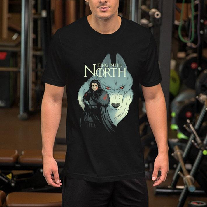 - Jon Snow King in the North Game Of Thrones shirt