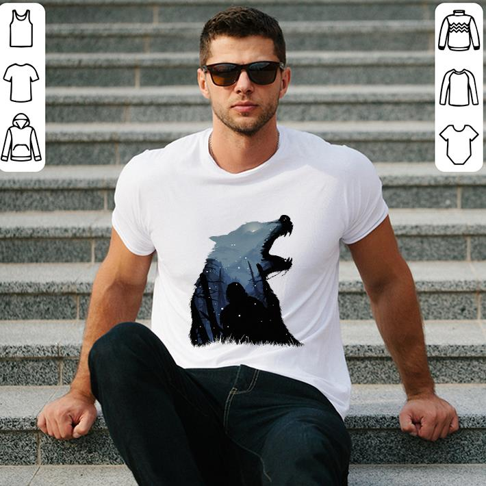 - Jon Snow King of The North Game Of Thrones shirt