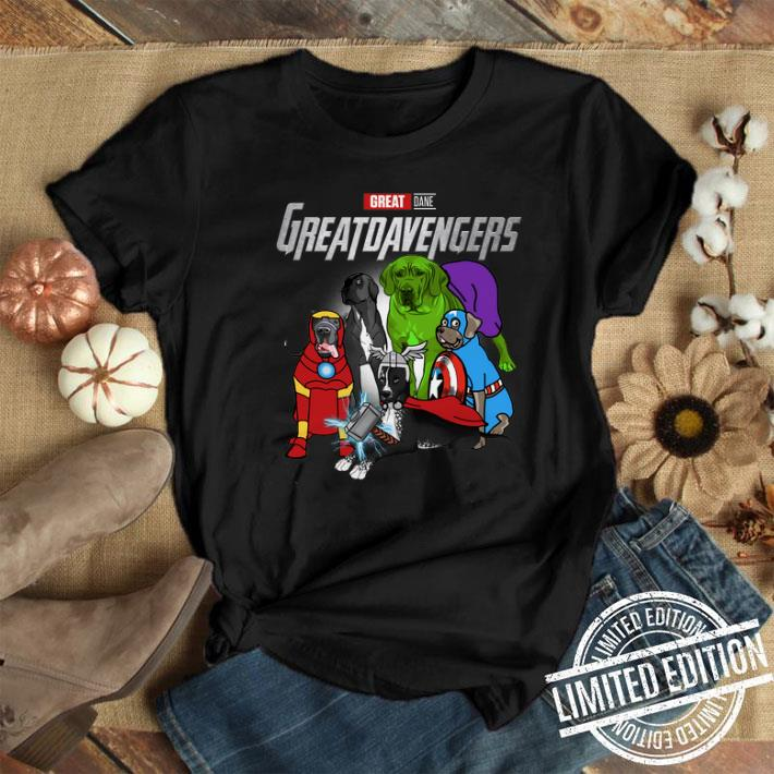 - Marvel Avengers Endgame Great Dane Greatdavengers shirt