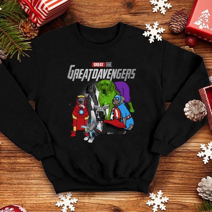 - Marvel Avengers Endgame Great Dane Greatdavengers shirt