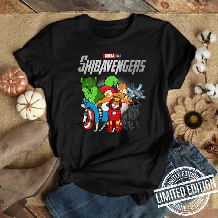 Marvel Avengers Endgame Shiba Inu Shibavengers shirt 1
