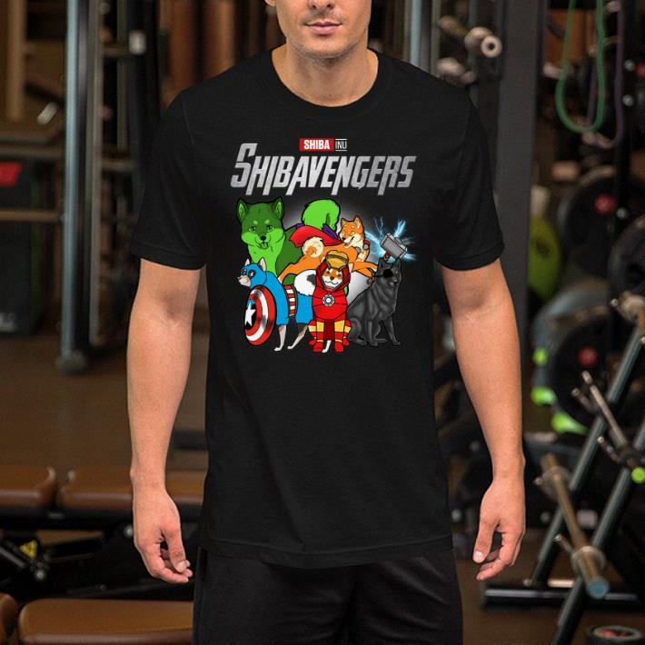 Marvel Avengers Endgame Shiba Inu Shibavengers shirt 2