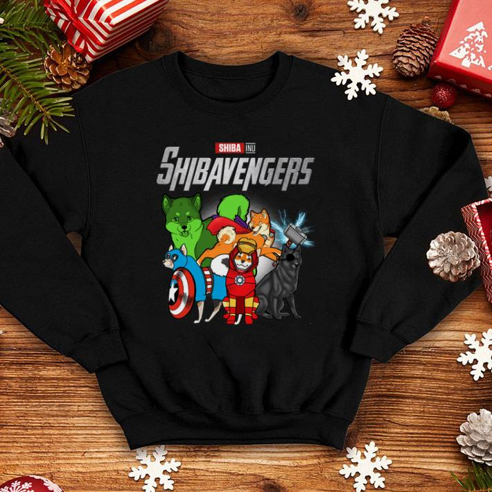 - Marvel Avengers Endgame Shiba Inu Shibavengers shirt