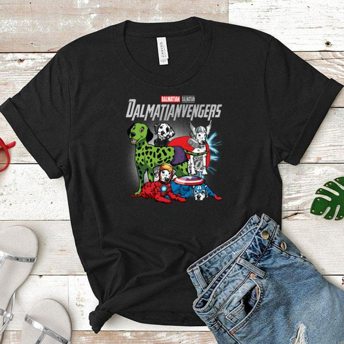 Marvel Dalmatian Dalmatianvengers Avengers Endgame shirt 1