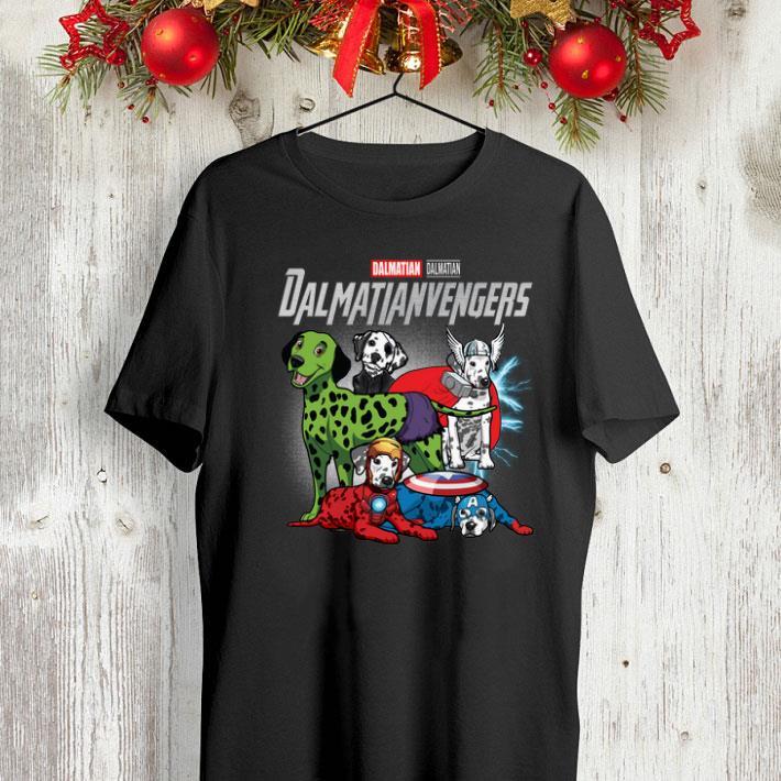 Marvel Dalmatian Dalmatianvengers Avengers Endgame shirt