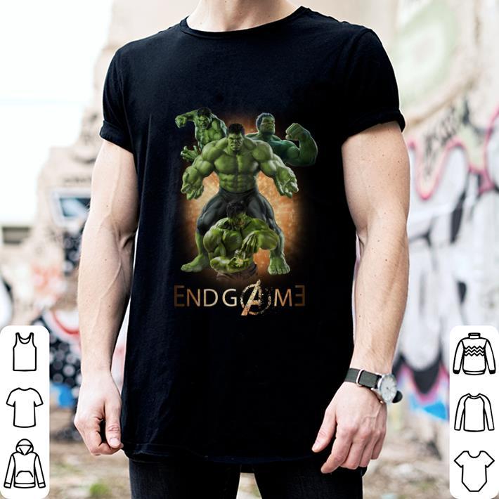 - Marvel Hulk Avengers Endgame shirt