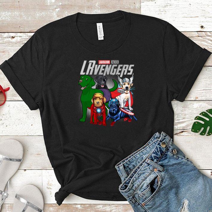 - Marvel Lablador Retriever LRvengers Avengers Endgame shirt