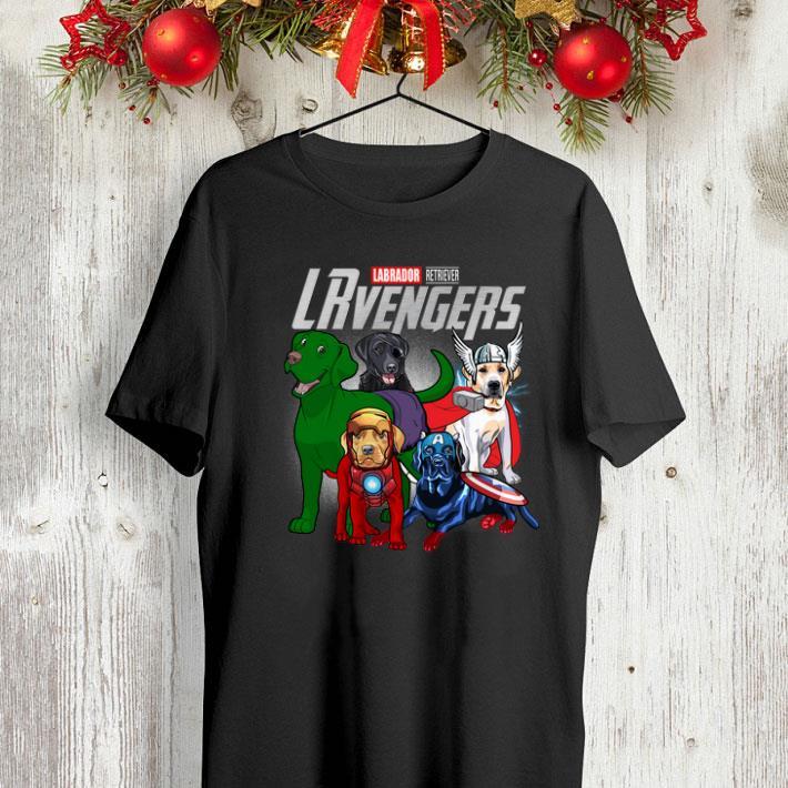 Marvel Lablador Retriever LRvengers Avengers Endgame shirt