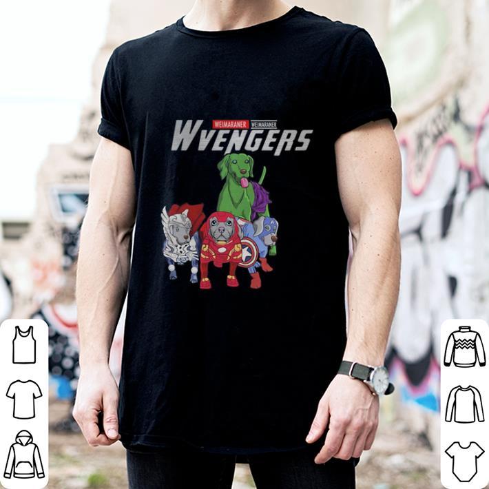 - Marvel Wvengers Avengers Endgame Weimaraner shirt