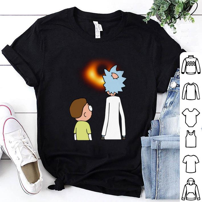 Rick and Morty black hole shirt 1