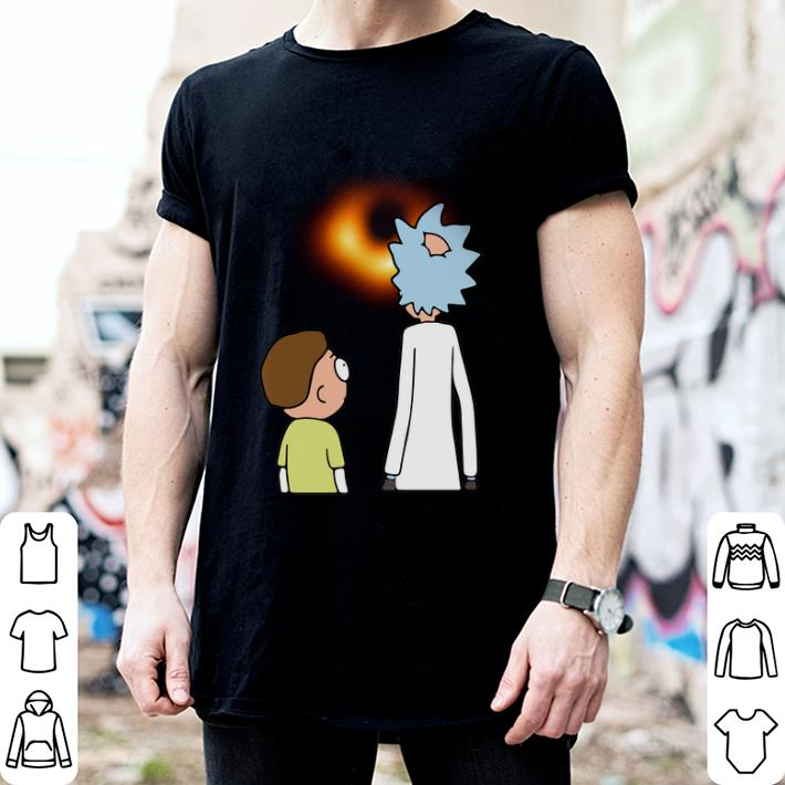 - Rick and Morty black hole shirt