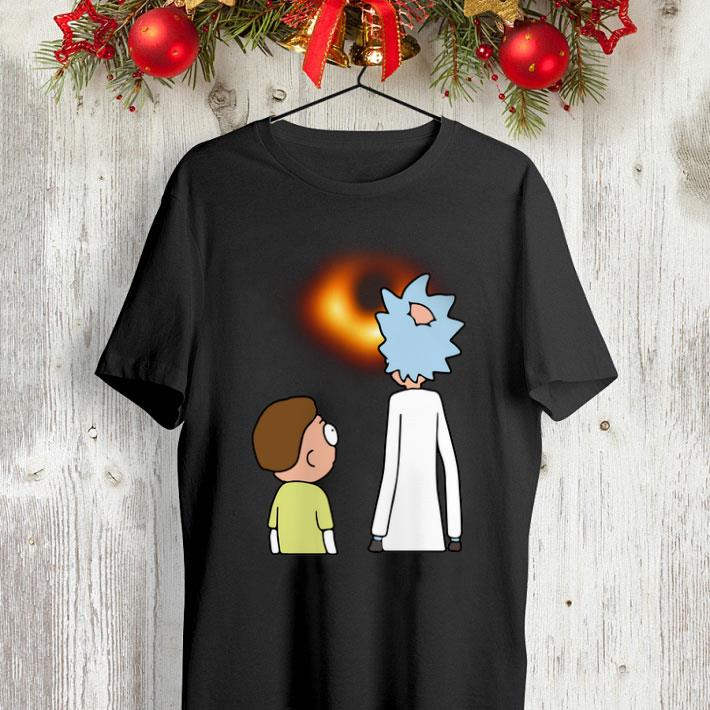 Rick and Morty black hole shirt