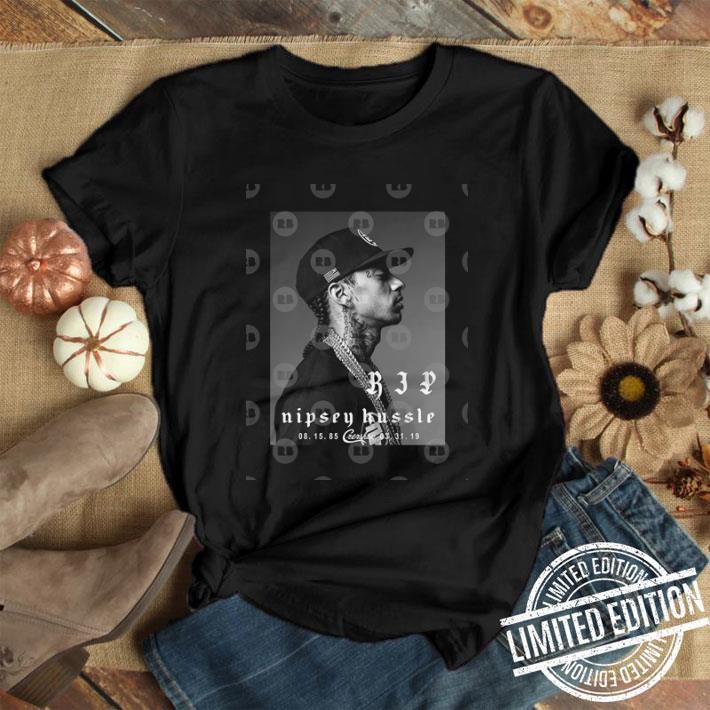 Rip Nipsey Hussle Crenshaw TMC legend rapper shirt 1