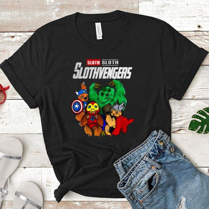 - Sloth Slothvengers Marvel Avengers Endgame shirt