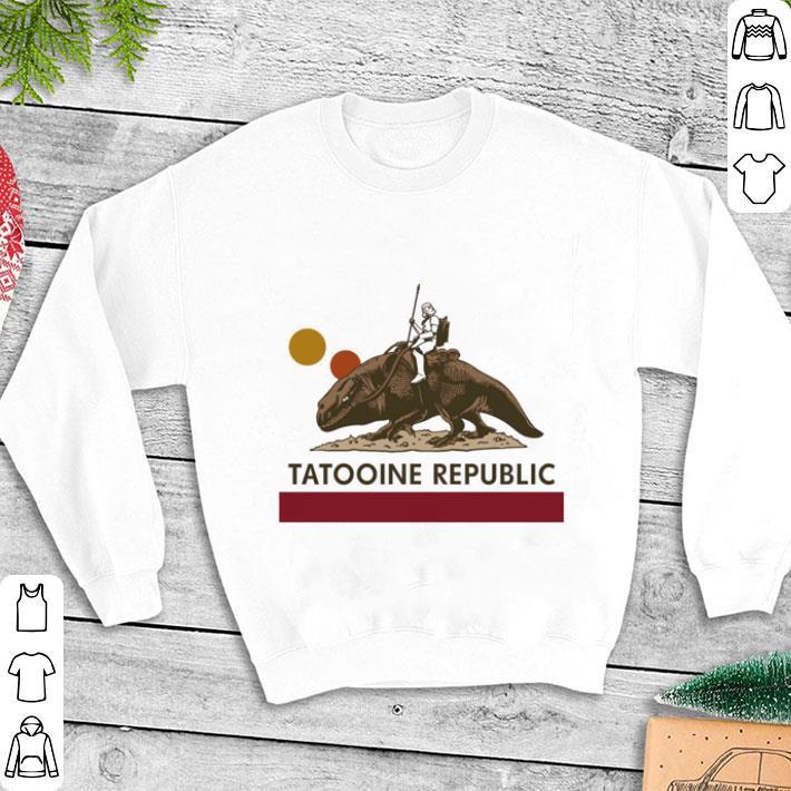 Star Wars Tatooine republic shirt 1