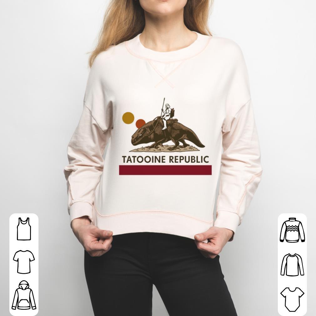 Star Wars Tatooine republic shirt 3