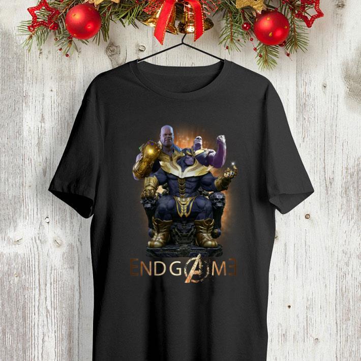 Thanos Marvel Avengers Endgame shirt