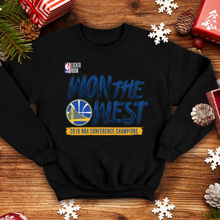 Golden State Warriors WON THE WEST shirt 4