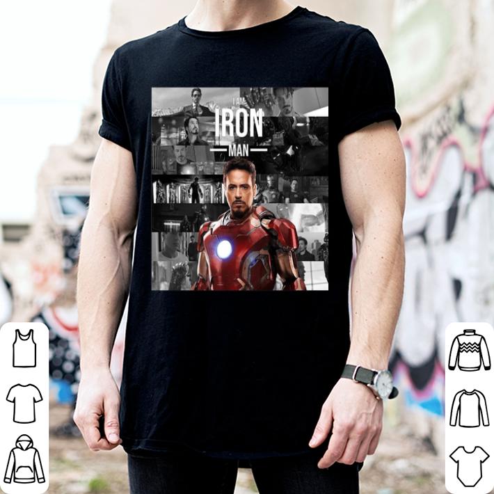 - Best Of Iron Man Memories I am Iron Man shirt