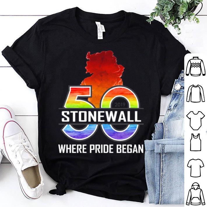 50 Stonewall where pride began shirt 1