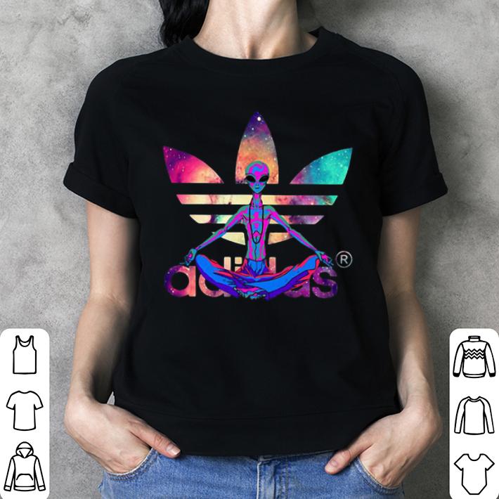 Alien yoga adidas shirt 3