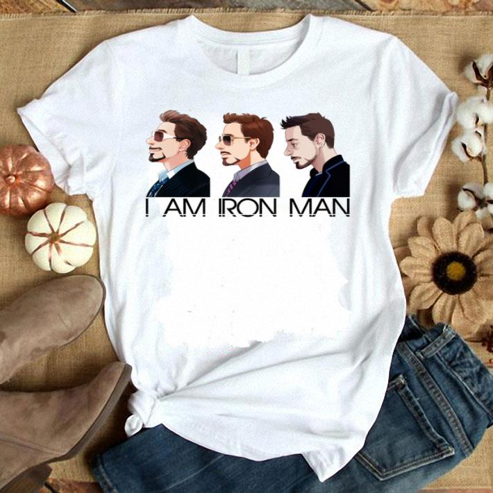 - Avengers Tony Stark I am Iron Man shirt