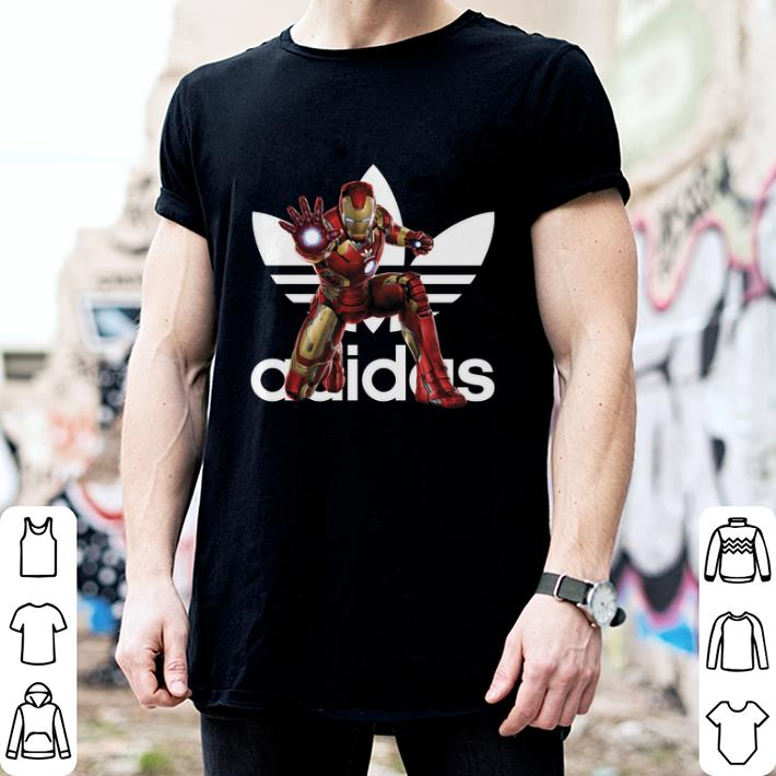 - Adidas MCU Iron Man Marvel shirt