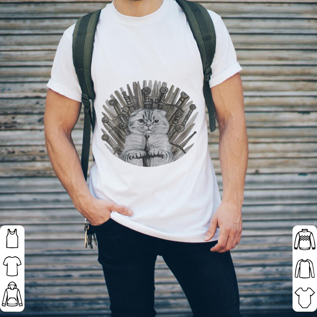 Boss Game Of Cat Game Of Thrones shirt 2
