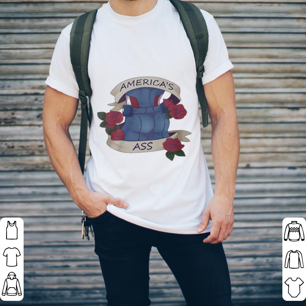 Captain America's ass standard shirt 2