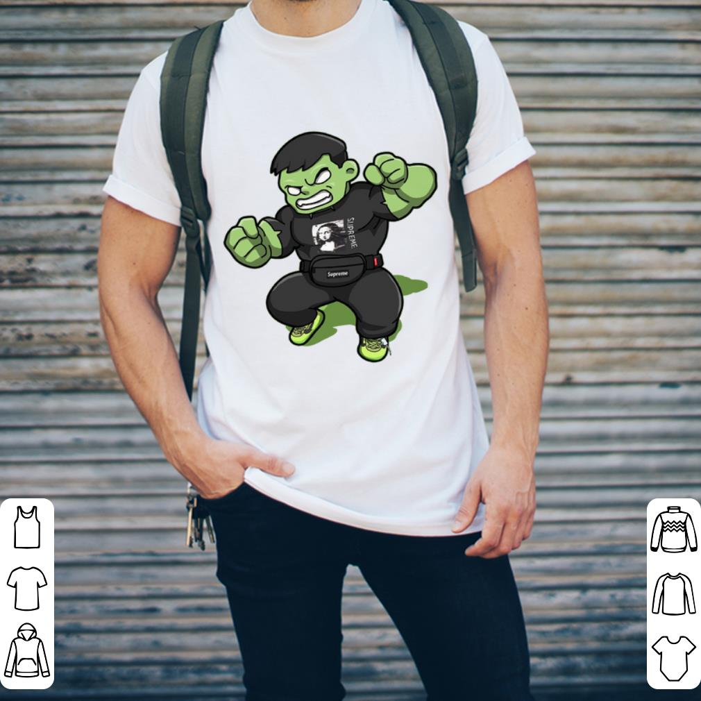 - Chibi Supreme Hulk Mona Lisa Avengers shirt