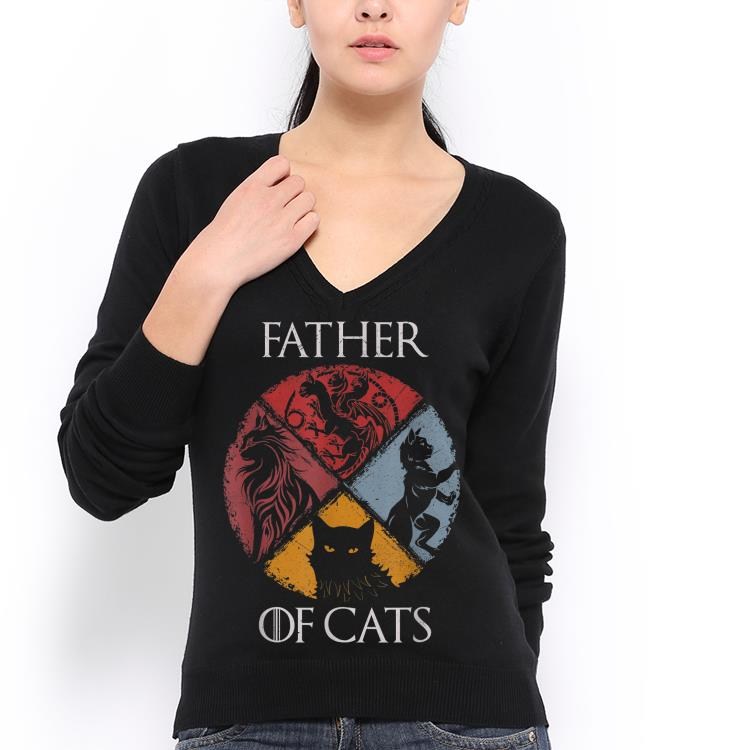 Father of Cats Dad day shirt 3
