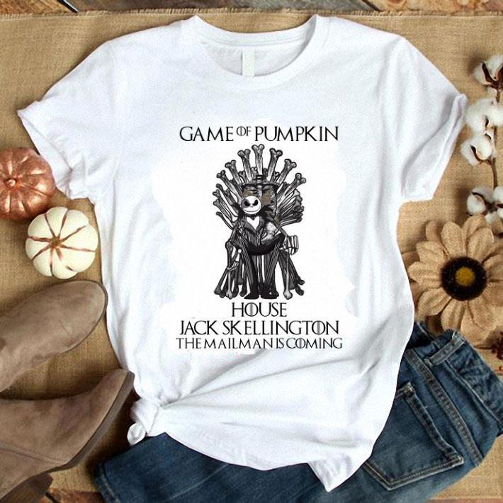 - Game Of Pumpkin house Jack Skellington the mailman is coming GOT shirt