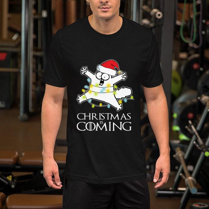 Game Of Thrones Christmas Is Coming Simon's Cat shirt 2