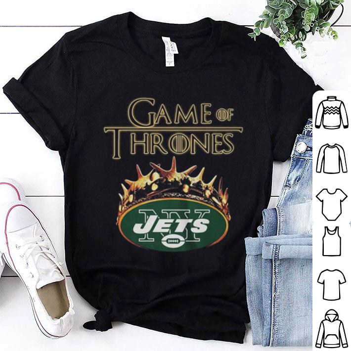 - Game Of Thrones Crown New York Jets shirt
