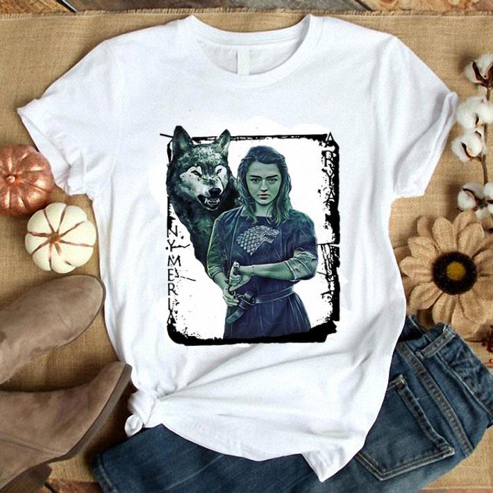 Game Of Thrones Nymeria Arya Stark shirt 1
