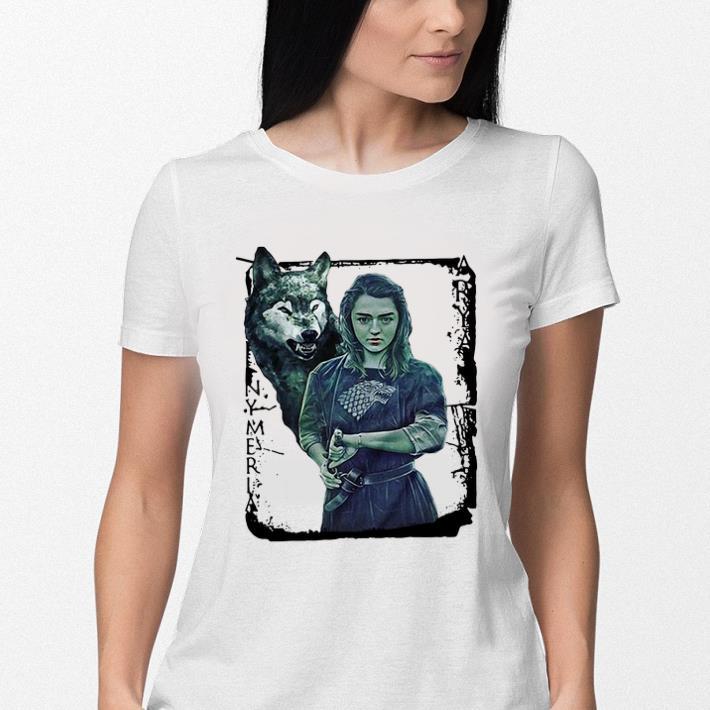 - Game Of Thrones Nymeria Arya Stark shirt
