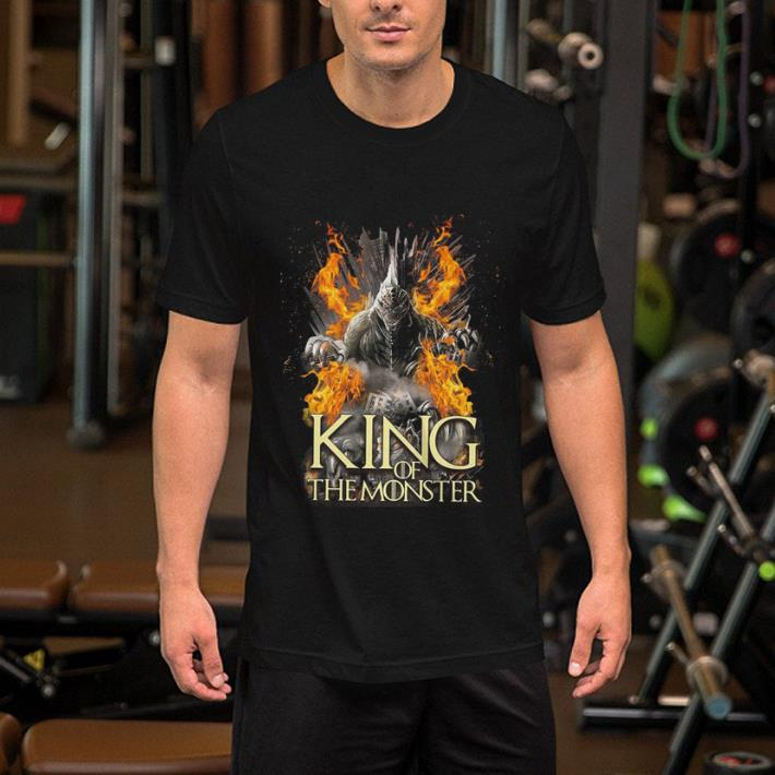 - Game of Thrones Godzilla king of the monsters shirt