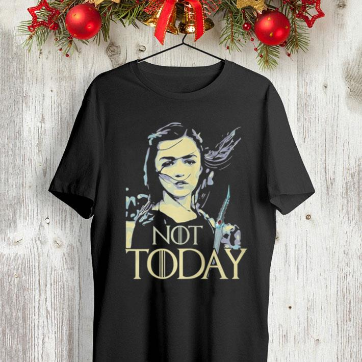 Game of Thrones Not Today Death Arya Stark shirt