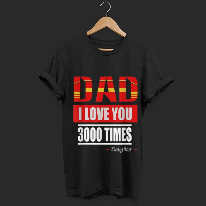 Iron man I Love You 3000 Times Father's Day shirt 1