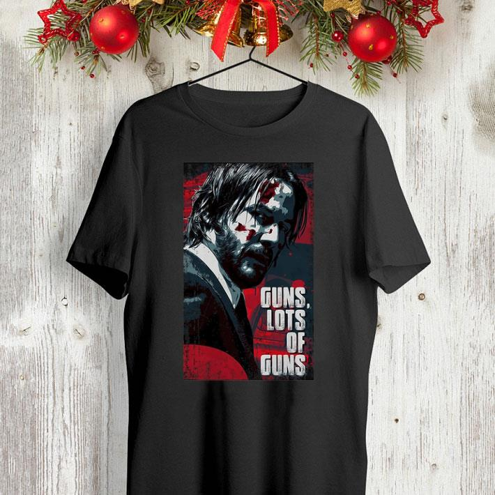 John Wick Guns lots ofs guns shirt
