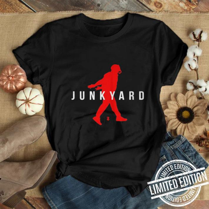 - Junkyard Air Jordan shirt