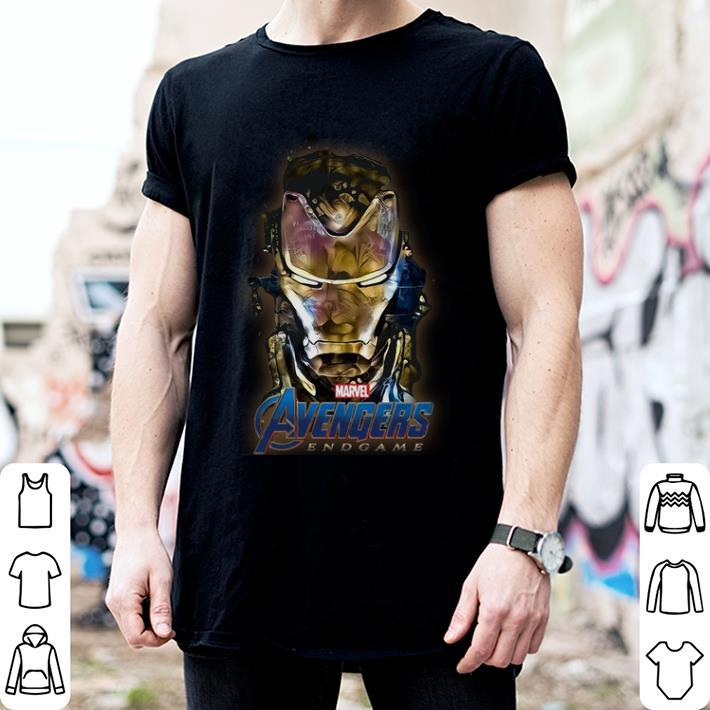 Marvel Avengers Endgame Iron Man Golden shirt 2
