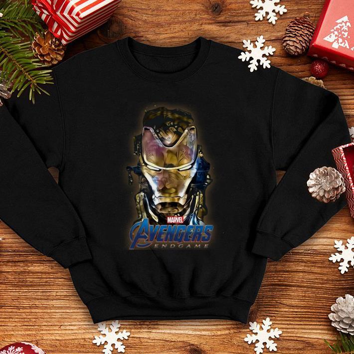 Marvel Avengers Endgame Iron Man Golden shirt
