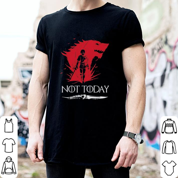 Not Today Death Valyrian Dagger No One Game Of Thrones shirt 2