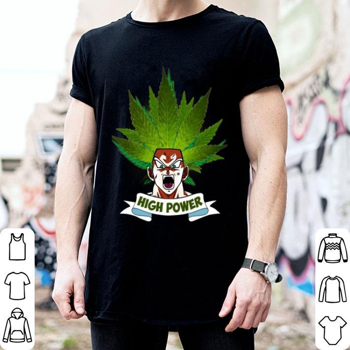 - Son Goku High Power Weed shirt