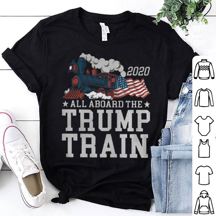 - All aboard the Trump train shirt