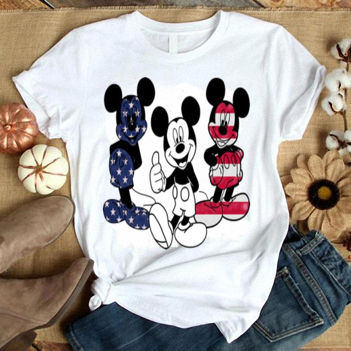 American flag Mickey Mouse 4th of July independence day shirt