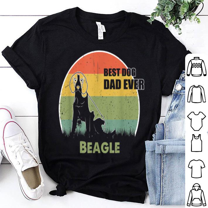 - Best Dog Dad Ever Beagle Father Day 2019 shirt